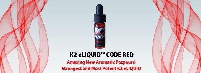Buy K2 eliquid CODE RED 5 ml