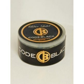 Code black BLUE LABEL liquid incense