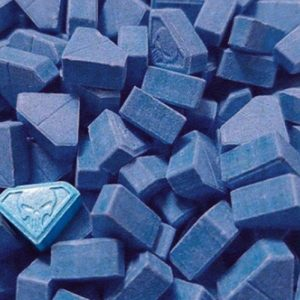 Pastillas de MDMA Blue Punisher