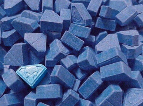 Blue Punisher MDMA Pills