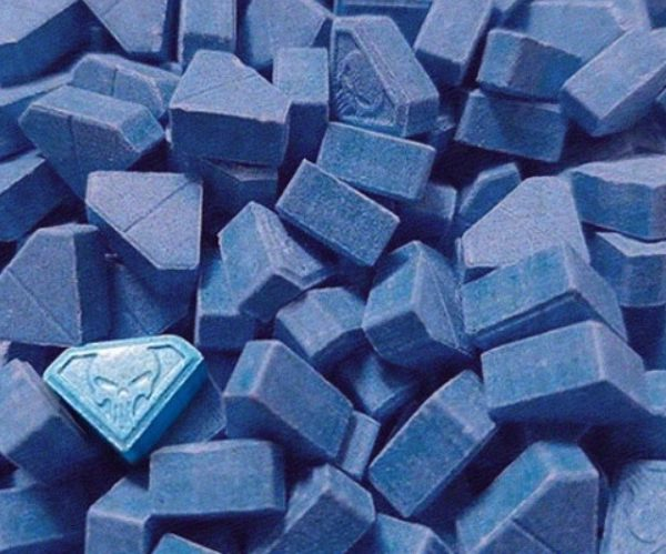 Blue Punisher MDMA Pills